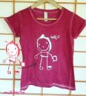 Camiseta chica con tu dibujo