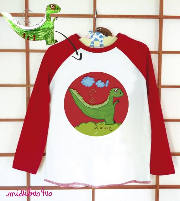Camiseta niños con su dibu